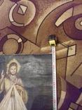 Старинна ікона на полотні, фото №9