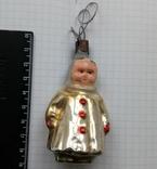 Елочная игрушка Малыш СССР 1940 - 1950 г., фото №2