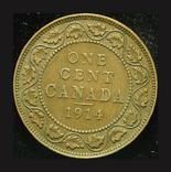 Канада цент 1914, фото №2