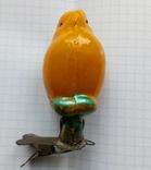 Елочная игрушка Цыпленок  СССР 1940 - 1950 г., фото №3