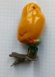 Елочная игрушка Цыпленок  СССР 1940 - 1950 г., фото №2
