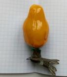 Елочная игрушка Цыпленок  СССР 1940 - 1950 г., фото №5