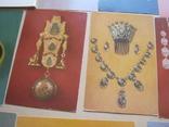 Набор открыток Русское ювелирное искусство из Эрмитажа, фото №7