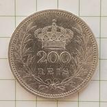 Португалия 200 рейс 1909 год, фото №2