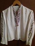Сорочка для дівчинки вишивка та камизелька ручна робота., фото №2