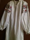 Сорочка жіноча вишивка,кінець 19 століття,початок 20., фото №2