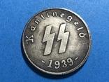 Германия - Третий рейх 50 рейхспфеннигов 1939 г. Копия, фото №2