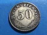 Германия - Третий рейх 50 рейхспфеннигов 1939 г. Копия, фото №3