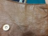 Кожаный клатч Victoria Sugden Йоркшир Великобритания. Ручная работа, фото №10