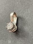 Подвеска серебряная, фото №2