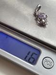 Подвеска серебряная, фото №7