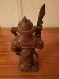 Статуетка Воин из красного дерева, фото №5