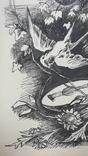 Малюнок на козацьку тему №1 туш, фото №6