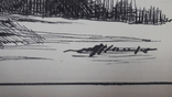 Малюнок на козацьку тему №2 туш,  підпис, фото №9