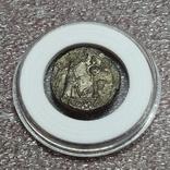 Викториат 211-208 до н. э., надпись на реверсе Roma, фото №3