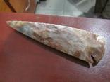 Кремневый наконечник копья, фото №2