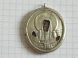 Иконка Покрова серебро 84, фото №2