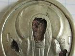 Иконка Покрова серебро 84, фото №3