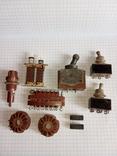 Лот радіодеталей ( Тумблери ТВ1-1 1966р., ТП1-2 78 - 79р., та інше), фото №2