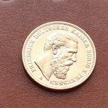 Золото. 20 марок 1888 г. Пруссия, фото №3