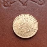 Золото. 20 марок 1888 г. Пруссия, фото №6