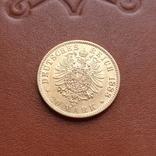 Золото. 20 марок 1888 г. Пруссия, фото №10