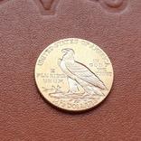 2 1/2  доллара  США 1912 г. с изображением индейца., фото №5