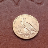 2 1/2  доллара  США 1912 г. с изображением индейца., фото №6