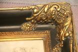 Картина  ,, Античний сюжет ,, Англія. Мраморная крошка. розмір в рамі 42Х37см., фото №4