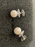 Сережки серебряные, фото №3
