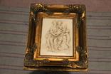 Картина  ,, Античний сюжет ,, Англія. Мраморная крошка. розмір в рамі 42Х37см./, фото №2