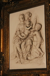 Картина  ,, Античний сюжет ,, Англія. Мраморная крошка. розмір в рамі 42Х37см./, фото №11