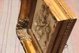Картина  ,, Античний сюжет ,, Англія. Мраморная крошка. розмір в рамі 42Х37см./, фото №12