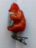 Елочная игрушка  Медведь с гармошкой, фото №2