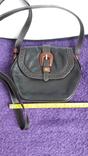 Вінтажна сумочка Etienne Aigner чорного кольору №2, фото №2