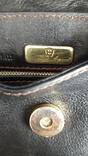 Вінтажна сумочка Etienne Aigner чорного кольору №2, фото №8