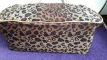 Дорожня сумка Casa di Borse леопардового принту, фото №6