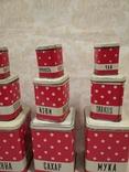 Полный набор банок для кухни, фото №5