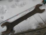 Ключ рожковий 51/55, фото №5