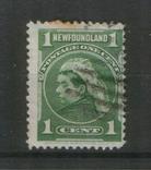 Брит. колонии. 1897 Ньюфаундленд, королева Виктория, фото №2