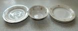 Четыре тарелки и пиала дружковский ф/з, фото №11