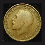Великобритания 1/2 пенни 1915, фото №2