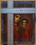 Ікона Казанської Богородиці, 21,9х17,1х2,5 см, фото №2