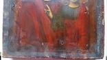 Ікона Казанської Богородиці, 21,9х17,1х2,5 см, фото №8