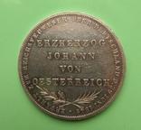 2 гульдена 1848р. Франкфурт. Йохан Батиста., фото №3