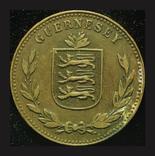 Гернси 8 даблов 1920, фото №3