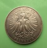 Талер 1859г. 100-лет Фридриха Шиллера, Франкфурт., фото №3