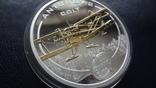 1 доллар 2008 о-ва Кука Ан-2 Кольт серебро+позолота (3.4.3), фото №4