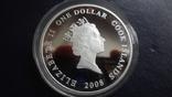 1 доллар 2008 о-ва Кука Ан-2 Кольт серебро+позолота (3.4.3), фото №6