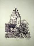 """Картина-графика """"Freiburg"""", фото №7"""